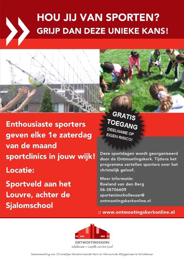 Sportdagen flyer 2013-2014 voorzijde